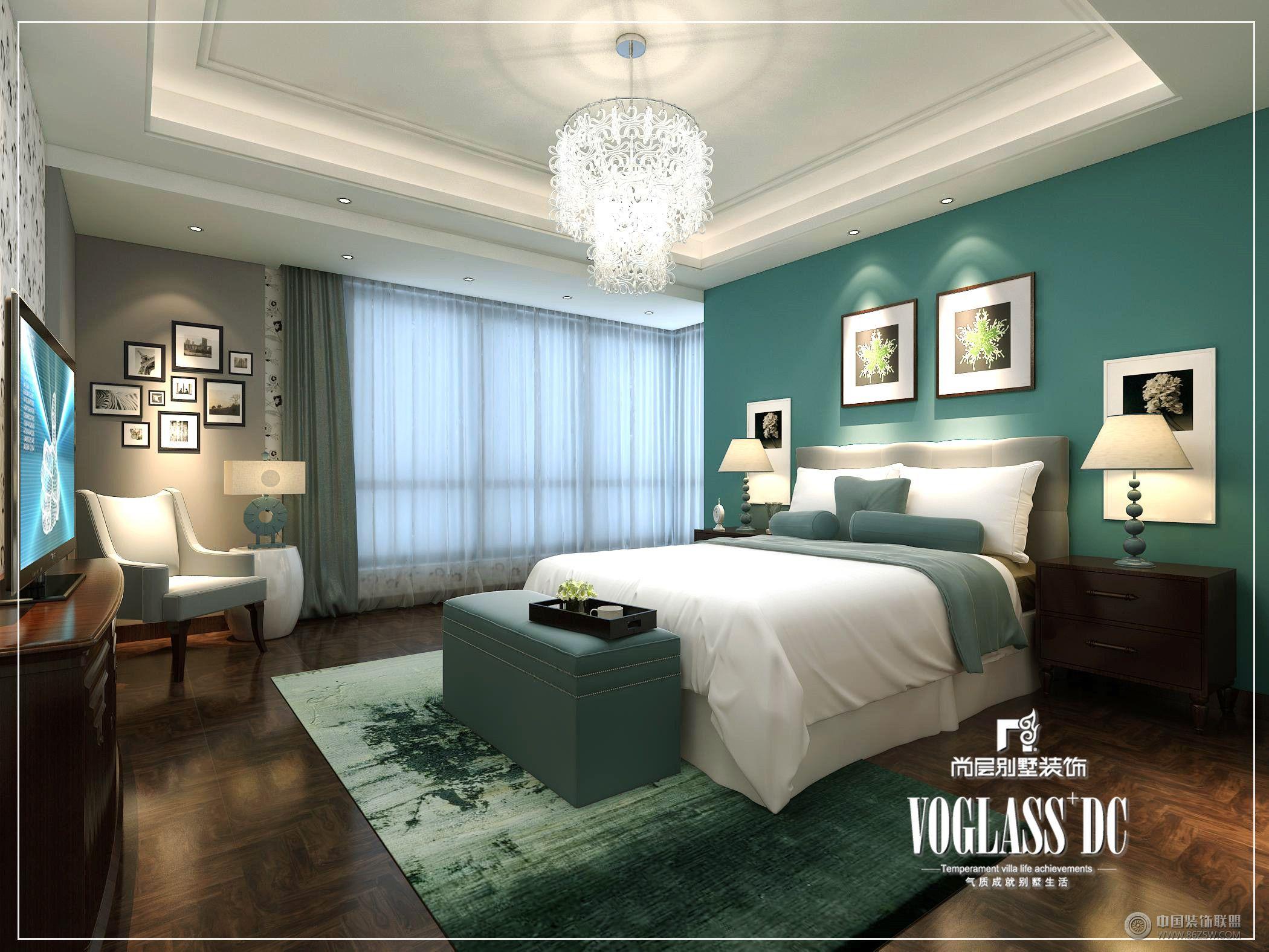 长城半岛城邦现代简约风格-卧室装修效果图-八六(中国