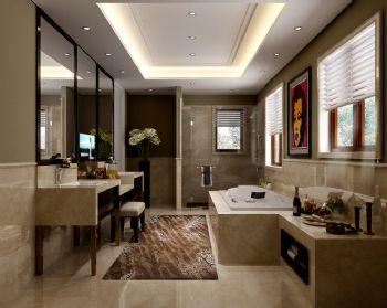 混搭风格别墅设计案例混搭风格卫生间装修图片
