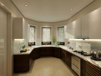 混搭風格別墅設計案例混搭風格廚房裝修圖片