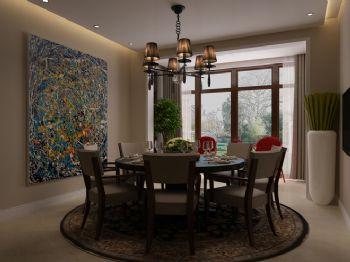 混搭风格别墅设计案例混搭风格餐厅装修图片