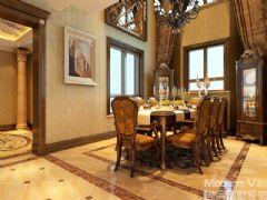 奥龙观邸别墅项目美式风格别墅