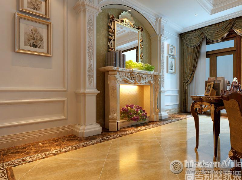 奥龙观邸别墅项目-客厅装修图片