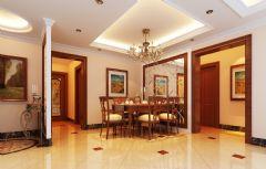 珠江峰景 143平简欧风格欧式风格四居室