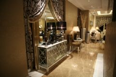 京汉旭城家园 180平简欧风格欧式风格过道装修图片