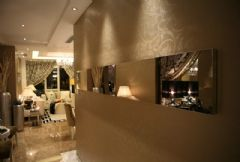 京汉旭城家园 180平简欧风格欧式风格玄关装修图片