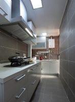 西城区四合上院 110平现代简约风格现代简约风格厨房装修图片