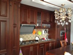 北京印象 60平歐式風格歐式風格廚房裝修圖片