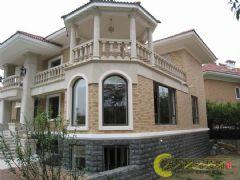 竹溪园别墅中式装修设计高端大气中式风格别墅