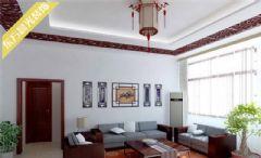 海淀观塘别墅室内装修中式风格中式风格别墅