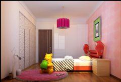 锦顺家园 125平现代简约风格现代简约风格儿童房装修图片