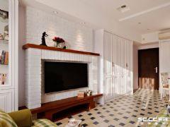 【上海实创装饰】140平华公馆乡村田园风格二手房装修田园风格三居室