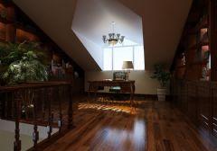 御宸上院 220平欧式风格欧式风格书房装修图片