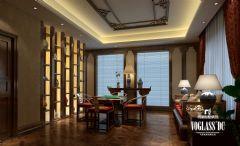 成都尚层装饰 城南逸家中式风格案例中式风格书房装修图片