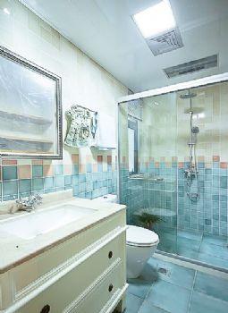 田园地中海混搭小户型案例混搭风格卫生间装修图片
