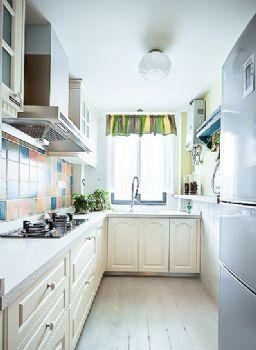 田園地中海混搭小戶型案例混搭風格廚房裝修圖片