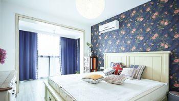 田园地中海混搭小户型案例混搭风格卧室装修图片