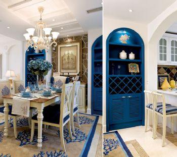 地中海别墅装修案例欣赏地中海风格餐厅装修图片