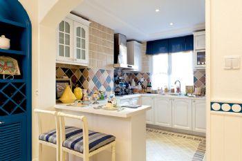 地中海別墅裝修案例欣賞地中海風格廚房裝修圖片