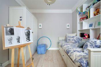 簡歐風格三居裝修案例歐式風格兒童房裝修圖片