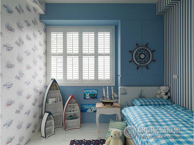 180平米美式风格四居装修案例-儿童房装修图片