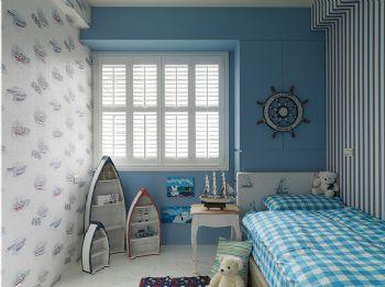 180平米美式風格四居裝修案例美式風格兒童房裝修圖片