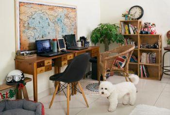 北欧混搭风格公寓混搭风格书房装修图片