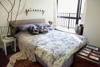 北欧混搭风格公寓混搭风格卧室装修图片