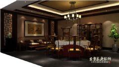 四川谭家四合院设计施工中式风格别墅