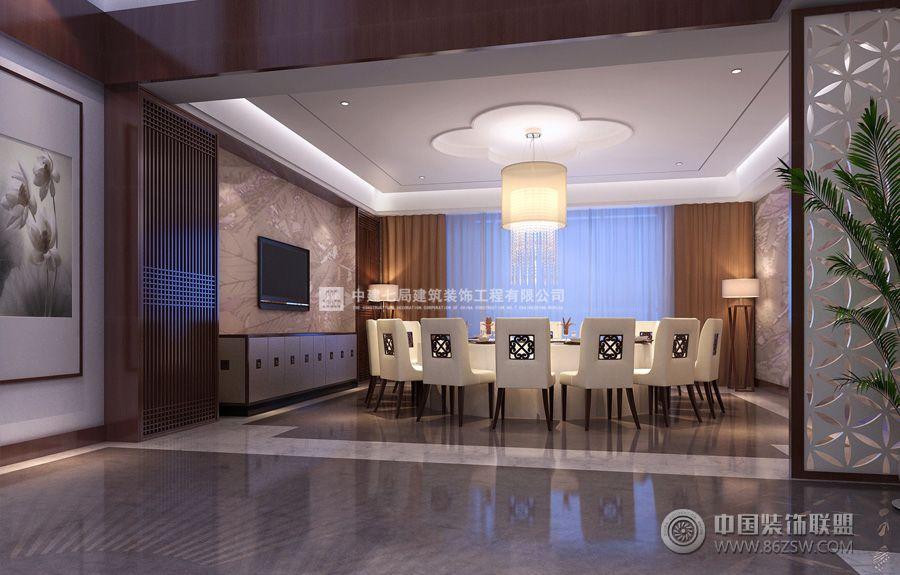 項目名稱:安彩公寓精裝樣板間裝修設計項目 設計施工單位:中建七局建筑裝飾工程有限公司 設計類型:會所公寓 設計風格:新中式風格 此套精裝公寓樣板間裝修設計,以蓮作為設計依托,全設計貫穿蓮的設計元素。本案做成會所形式,主要展示客戶對于生活的態度追求,一方面突出設計創意,另一方面考慮展示,整體盡量統一,風格的定義給予新中式風。新中式體現高品質的傳承,不經意間讓人感受到高品質的舒適體驗。身處其中,恍若超脫凡塵,煩惱、雜念消失無蹤。帶出一抹我讀我樂的歡喜。 別業居幽處,到來生隱心。 南山當戶牖,灃水映園林。 屋覆