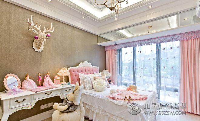现代欧式风格装修效果图-卧室装修效果图-八六(中国)