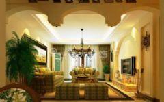 淮南广弘城三室装修,美式风格赏析美式风格三居室