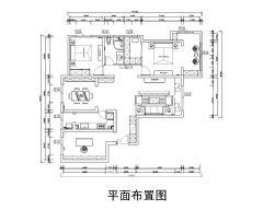 红木林 109平新中式中式风格其它装修图片