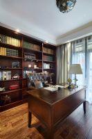 56平米古典风格案例古典风格书房装修图片
