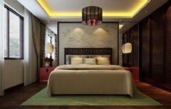 中式古典古典风格卧室装修图片
