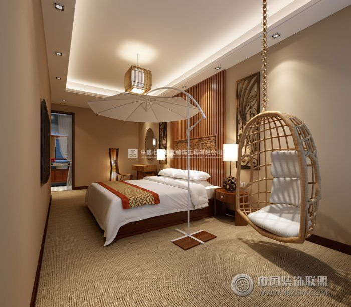旅游主题酒店装修设计案例-酒店装修图片