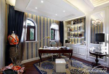 美式风格别墅样板房案例美式风格书房装修图片