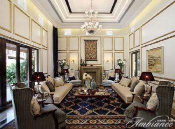 美式风格别墅样板房案例