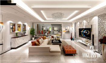 现代简约华美别墅设计图
