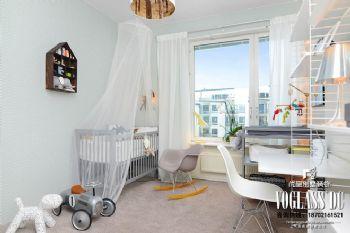 北欧风格别墅装修案例简约风格儿童房装修图片