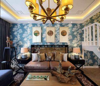 中式古典别墅装修案例欣赏