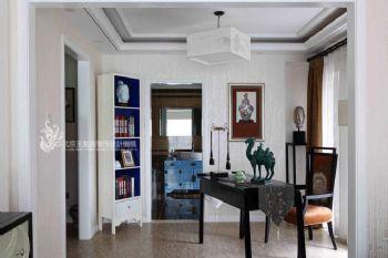 中式古典别墅装修案例欣赏中式风格书房装修图片