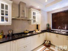 瑞南紫郡121㎡简美风格美式风格厨房装修图片