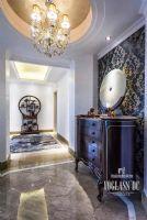 乐山金水湾法式风格完工实景照片美式风格卧室装修图片