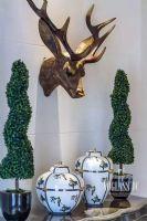 乐山金水湾法式风格完工实景照片美式风格餐厅装修图片