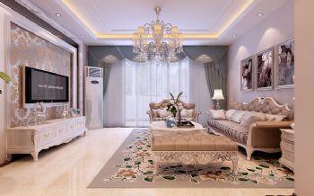 欧式古典三居设计案例