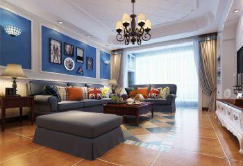 地中海风格三居室设计欣赏