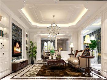 219平米欧式古典四居设计图古典风格客厅装修图片