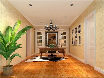 219平米欧式古典四居设计图古典风格书房装修图片