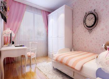乡村田园小户型设计案例田园风格卧室装修图片