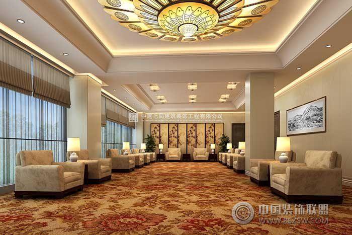 鑫源建国饭店这个案例的酒店装修设计图力求与建筑设计的思想一致,郑州酒店装修公司充分利用现有建筑空间进行再设,布置中做到流线合理,空间处理中充分利用隔断、沙发、花坛、下沉吊顶等形成一个又一个虚拟空间,使不同功能的空间既能彼此独立,又能保持通透感。酒店装修室内装饰设计的造型简洁,以强调现代新古典的美感。室内色调以淡雅色为主,表现出明快、典雅的气氛。室内的材料尽量采用明亮、光洁的材料,如大花白石材、镜面、不锈钢、以及水晶灯等,使室内处处洋溢着现代美的气息。 工作请联系: 河南省郑州市中建七局精装事业部小马 T